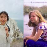 Theresa Wong, left, Olivia Brocklehurst, right